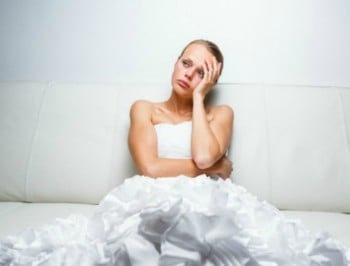 sad bride post