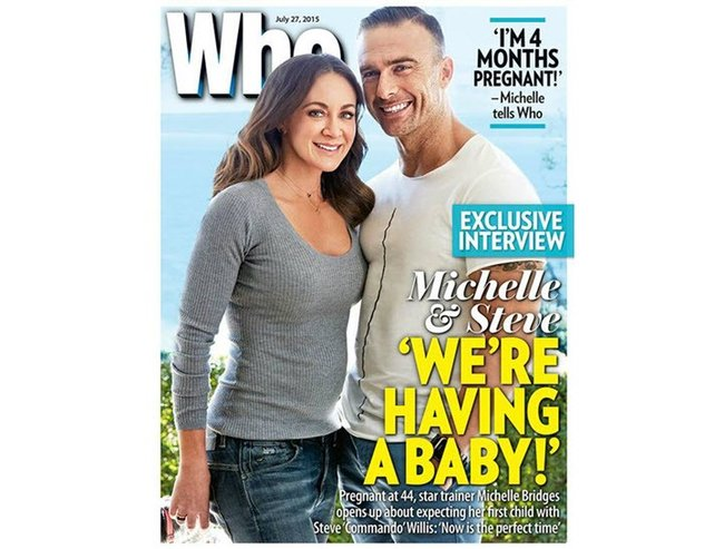 michelle bridges weightlifting pregnant