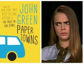Author John Green on the real reason Cara Delevingne