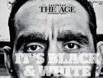 The powerful newspaper front page that makes us proud to be Australian.