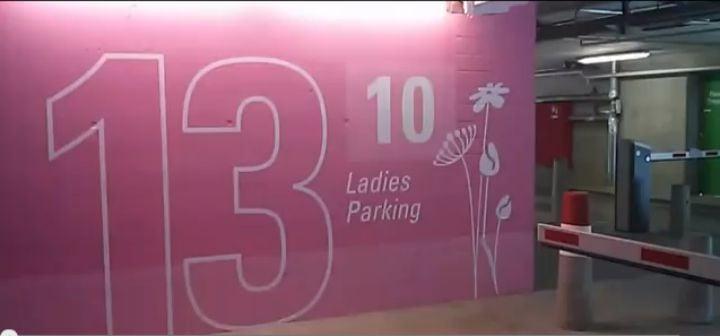 ladies parking