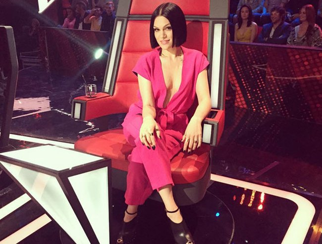 jessie j the voice outfit