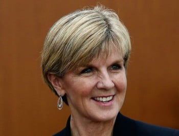 Julie Bishop on why she does not support quotas for women in parliament.