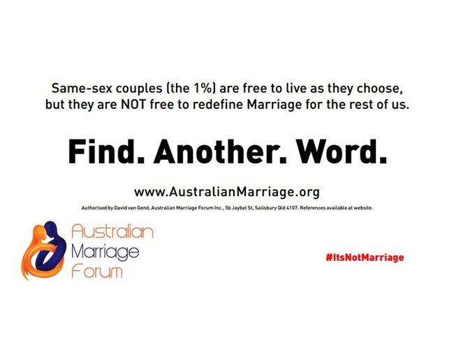 anti marriage equality ad