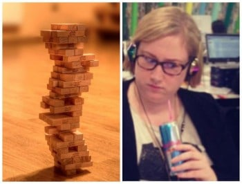 Rosie: I tried Tinder and ended up playing penis/face Jenga.