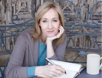JK Rowling: Dishing out kick-arse life advice on Twitter to muggles everywhere.