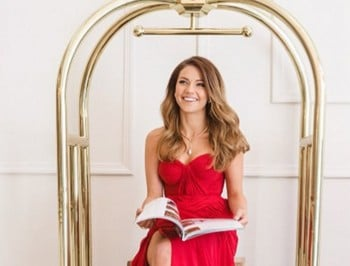 sam frost promo shoot