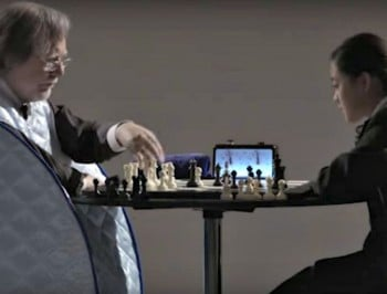 Can a glass of water help a 15-year-old kid beat a chess master?