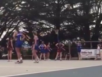 The very controversial netball move that changes everything.