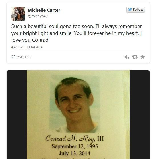 Michelle Carter loving you