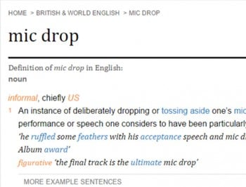 Oxford Dictionary new words