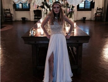 Lindsay Lohan goes to a fancy wedding, does everything you