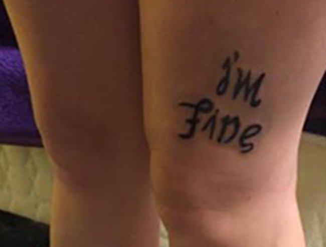 tattoo with hidden meaning