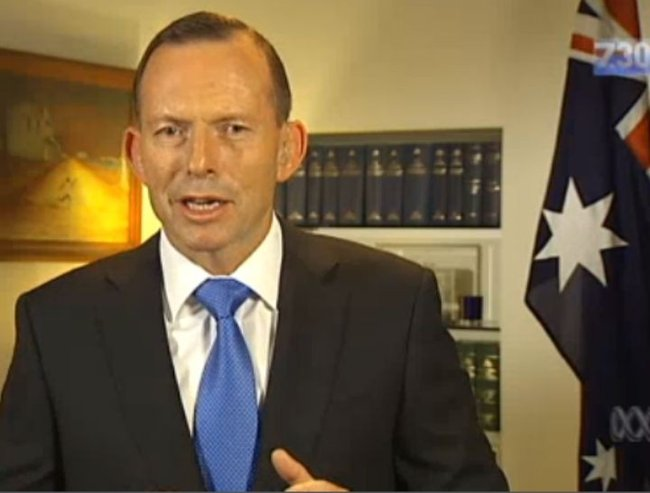Leigh Sales Tony Abbott interview
