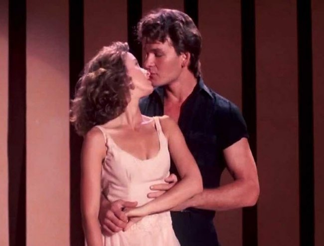 dirty dancing kiss