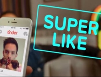 Tinder super like button cover