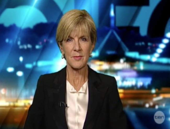 Julie Bishop The Project FI