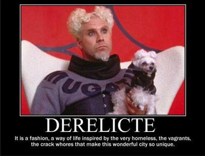 Derelicte fashion