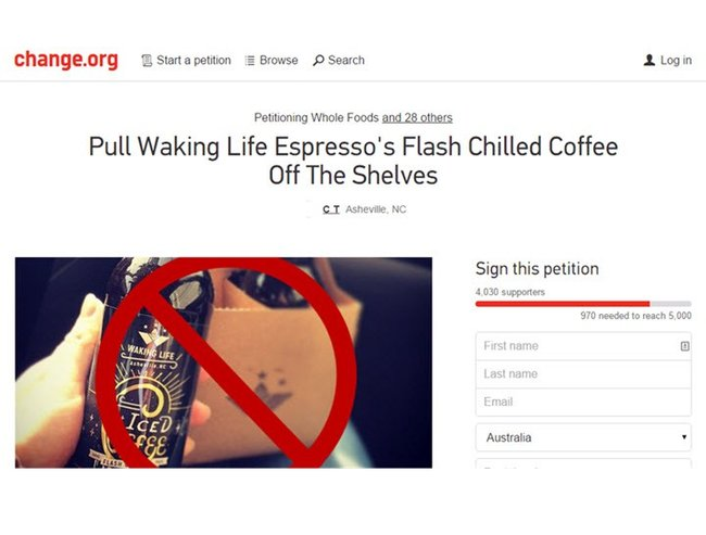 Asheville coffee owners misogyny blog