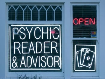 PODCAST: Why you should never see a psychic in a garage.