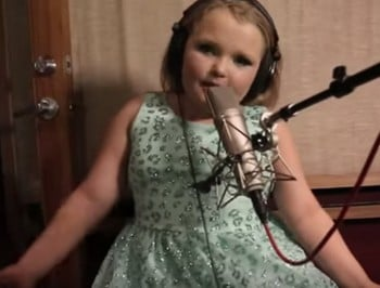 WATCH: Honey Boo Boo stars in a rap video.