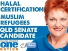 Pauline Hanson, we just want to thank you.