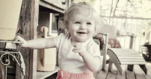 Rowyn as a baby