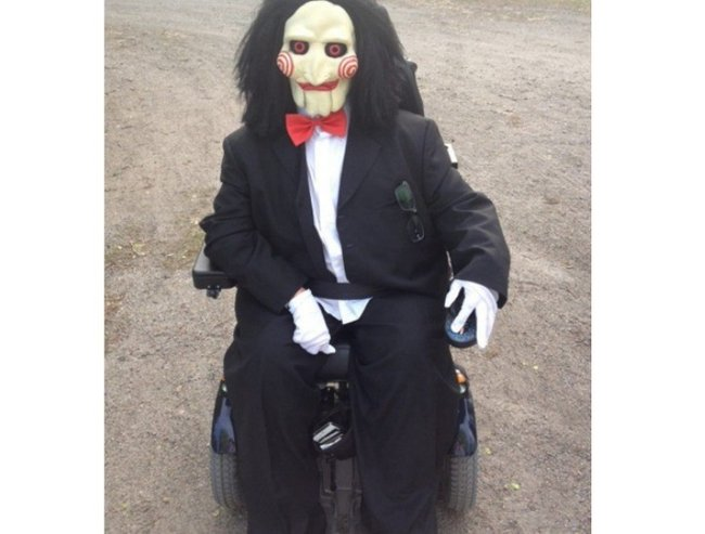 wheelchair friendly halloween costumes