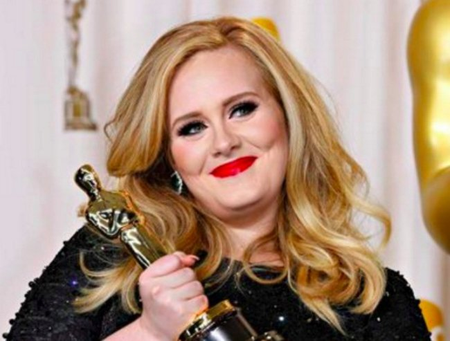 Adele. Image via Getty Images.