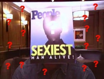 sexiest man alive feature