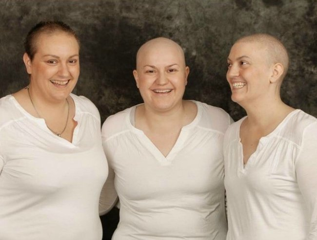 three sisters with cancer