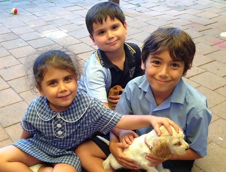 Kids and Sadie