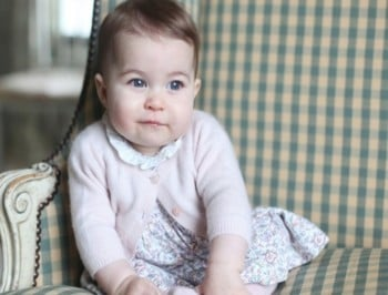 Princess Charlotte new photo 6 months