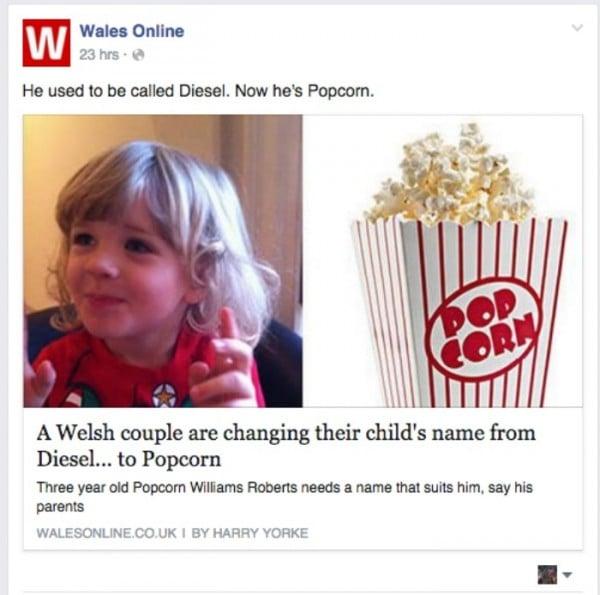 FB post wales online