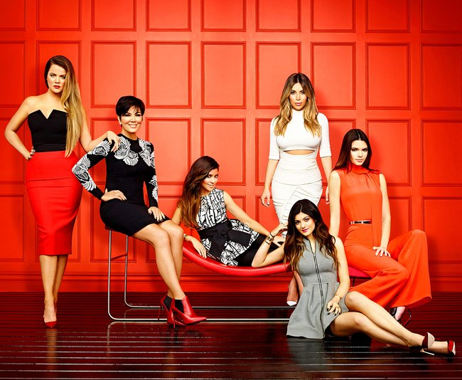 The Kardashians' annual Khristmas Kard is a bit light on ...