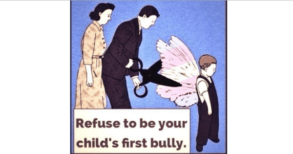 RefuseToBeYourChild'sFirstBully