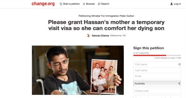 Hassan petition