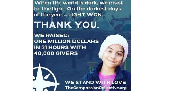 The Collective Compassion thank you