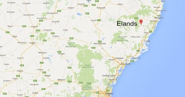 Elands map