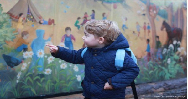 Prince George two first day school