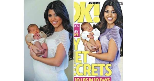 Kourtney Kardashian baby weight