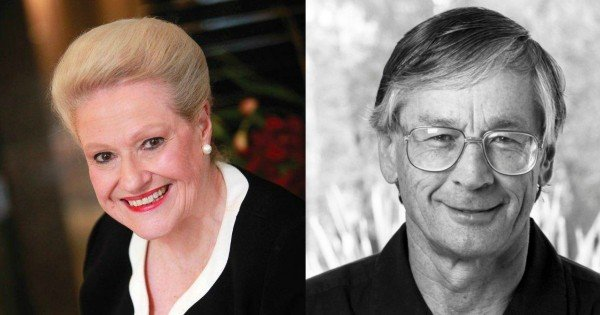 Bronwyn Bishop and Dick Smith