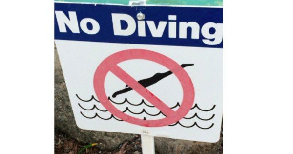 No diving image supplied 1 use