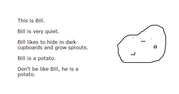 Bill potato