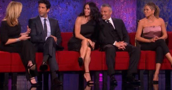 Friends reunion SCREEN GRAB