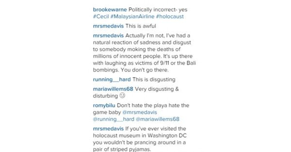 brooke warne instagram comments 1200x630