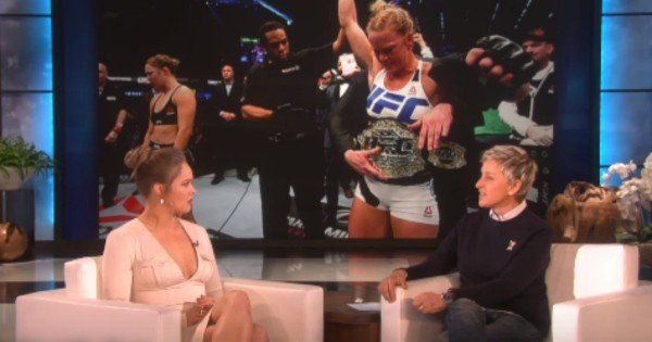 ronda rousey interview on ellen