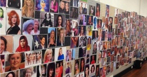 Mamamia's Wall of women