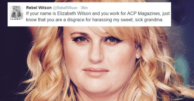 Rebel Wilson tweeted a woman's face and called her