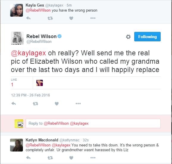 Rebel Wilson warned by followers